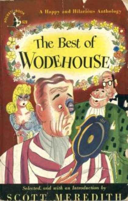 Pocket Books - The Best of Wodehouse. Selected and With an Introduction By Scott Meredith - P.