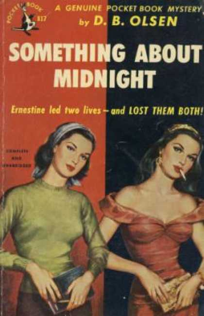 Pocket Books - Something About Midnight - D. B. Olsen