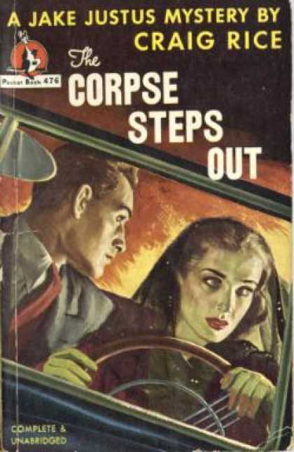 Pocket Books - The Corpse Steps Out - Craig Rice