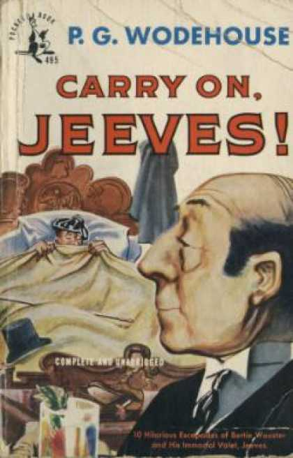 Pocket Books - Carry On, Jeeves !: 10 Escapades - P. G. Wodehouse