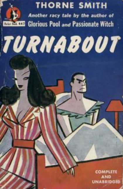 Pocket Books - Turnabout - Thorne Smith