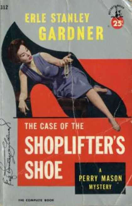 Pocket Books - The Case of the Shoplifter's Shoe - Erle Stanley Gardner