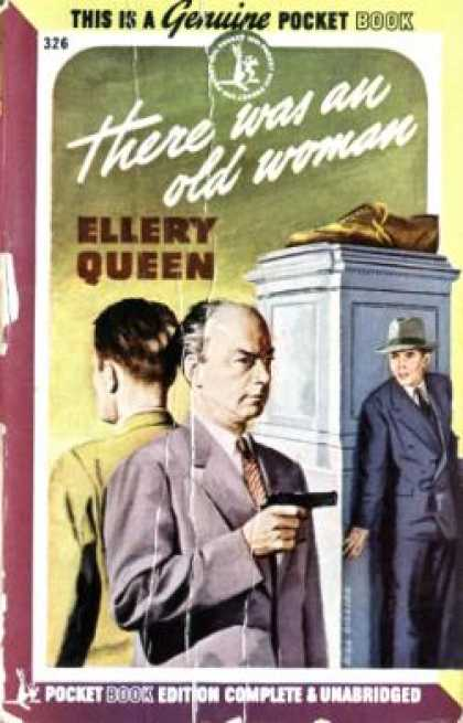 Pocket Books - There Was an Old Woman - Ellery Queen