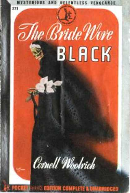 Pocket Books - The Bride Wore Black - Cornell Woolrich
