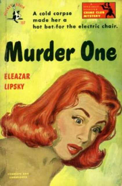 Pocket Books - Murder One - Eleazar Lipsky
