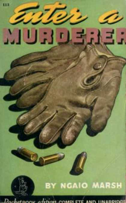 Pocket Books - Enter a Murderer - Ngaio Marsh