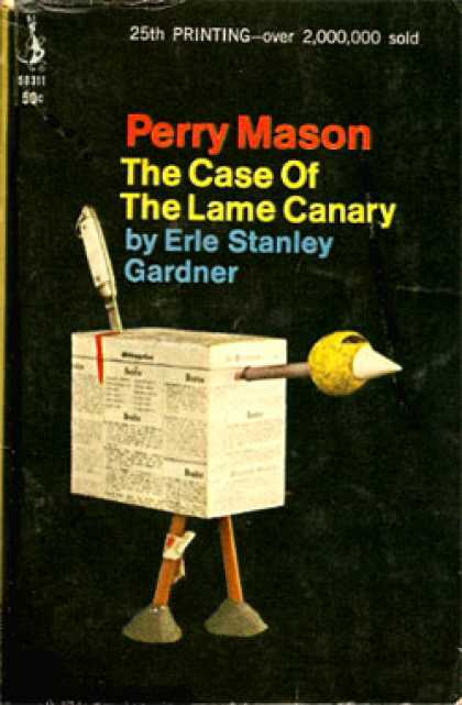 Pocket Books - The Case of the Lame Canary - Erle Stanley Gardner