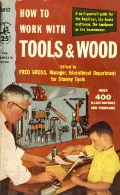 Pocket Books - How To Work With Tools and Wood