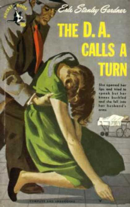 Pocket Books - The D.a. Calls a Turn - Erle Stanley Gardner