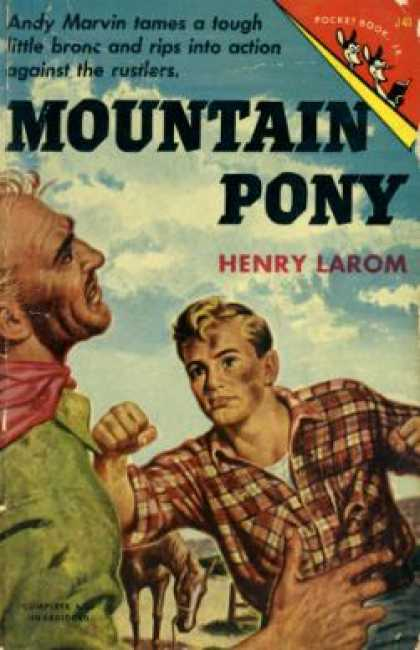 Pocket Books - Mountain Pony: A Story of the Wyoming Rockies - Henry V Larom