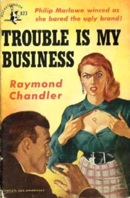Pocket Books - Trouble Is my Business - Raymond Chandler