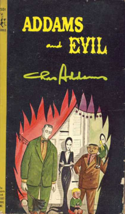 Pocket Books - Addams and Evil.
