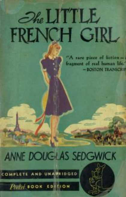 Pocket Books - The Little French Girl - Anne Douglas Sedgwick
