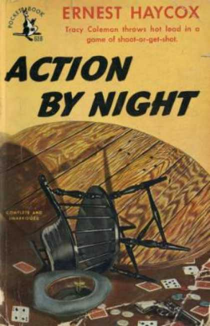 Pocket Books - Action By Night