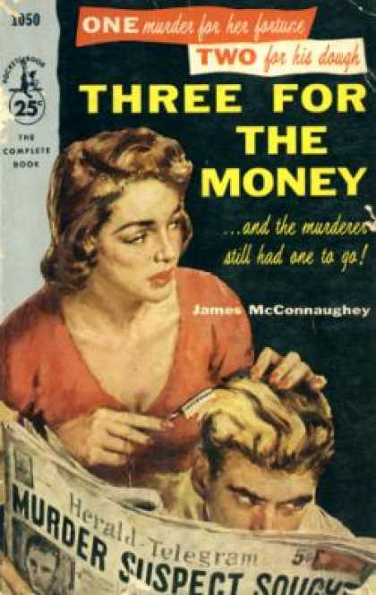 Pocket Books - Three for the Money