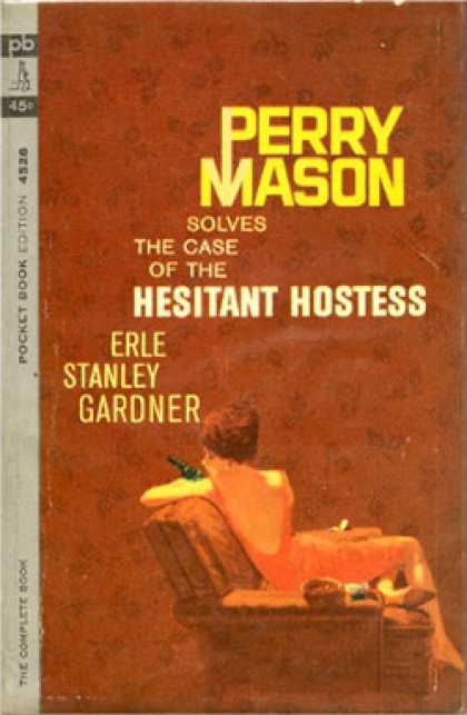 Pocket Books - Perry Mason Solves the Case of the Hesitant Hostess