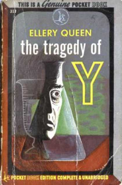 Pocket Books - The Tragedy of Y: A Drury Lane Mystery - Ellery Queen