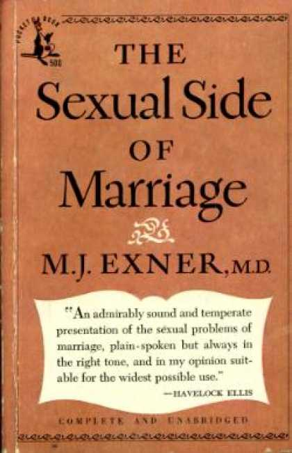 Pocket Books - The Sexual Side of Marriage - M.d. M.j. Exner