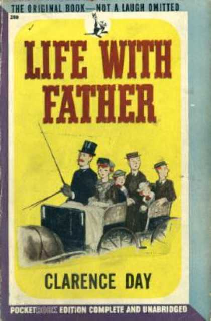 Pocket Books - Life With Father - Clarence Day