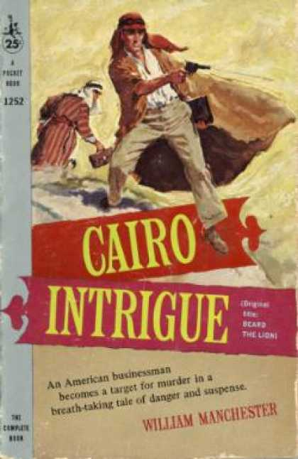 Pocket Books - Cairo Intrigue - William Manchester