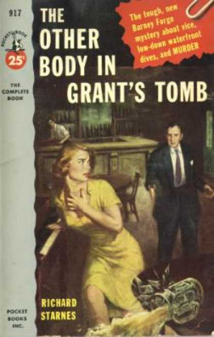 Pocket Books - The Other Body In Grant's Tomb - Richard Starnes