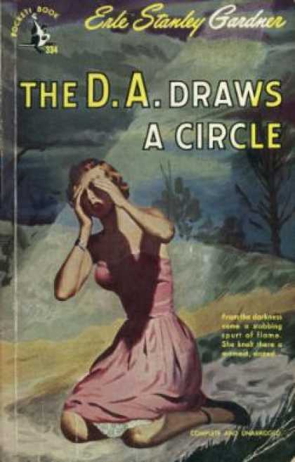 Pocket Books - The D. A. Draws a Circle - Erle Stanley Gardner