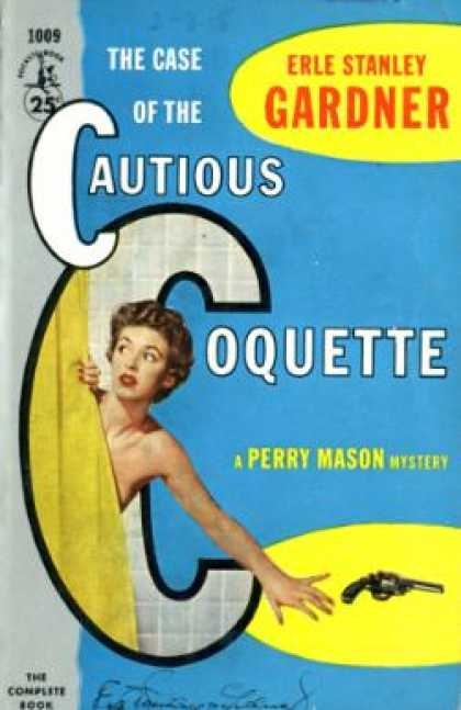 Pocket Books - The Case of the Cautious Coquette - Earl Stanley Gardner
