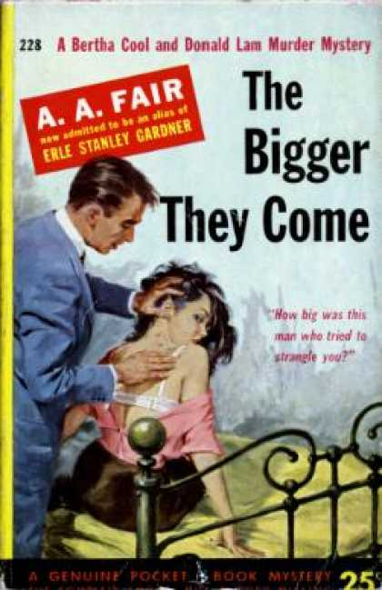 Pocket Books - The Bigger They Come - A. a Fair