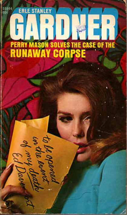 Pocket Books - The Case of the Runaway Corpse - Erle Stanley Gardner