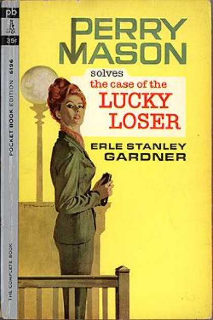 Pocket Books - Perry Mason Solves the Case of the Lucky Loser
