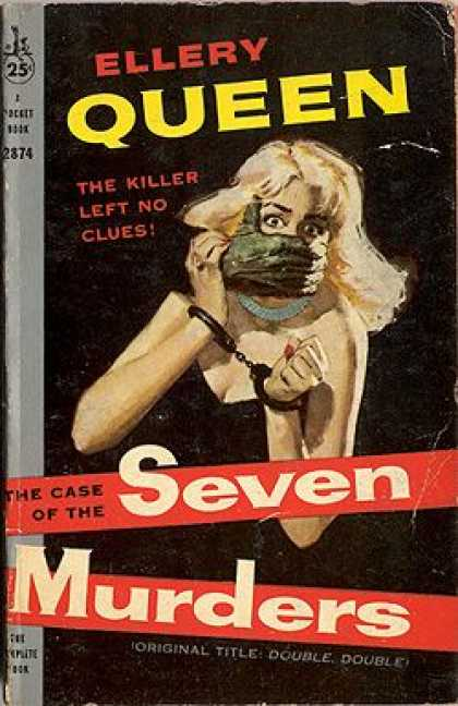 Pocket Books - The Case of the Seven Murders - Ellery Queen