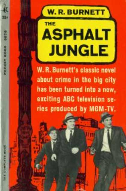 Pocket Books - The Asphalt Jungle - W. R Burnett