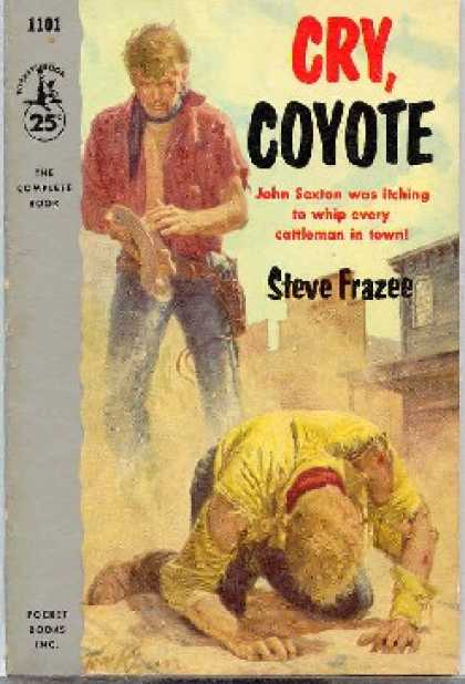 Pocket Books - Cry, Coyote - Steve Frazee