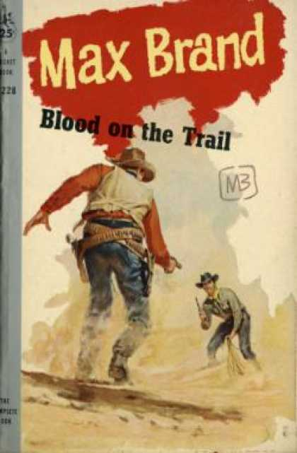 Pocket Books - Blood On the Trail - Max Brand