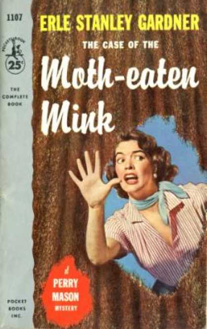 Pocket Books - The Case of the Moth-eaten Mink