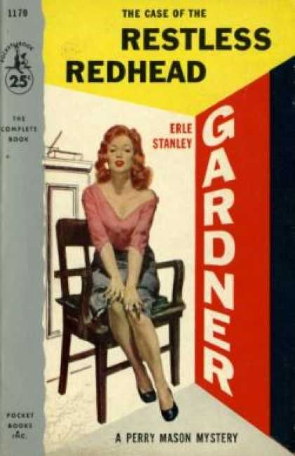 Pocket Books - The Case of the Restless Redhead - Erle Stanley Gardner