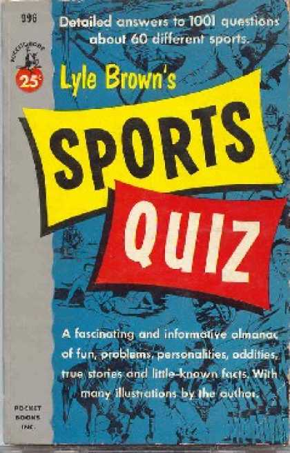 Pocket Books - Lyle Brown's Sports Quiz - Lyle Brown