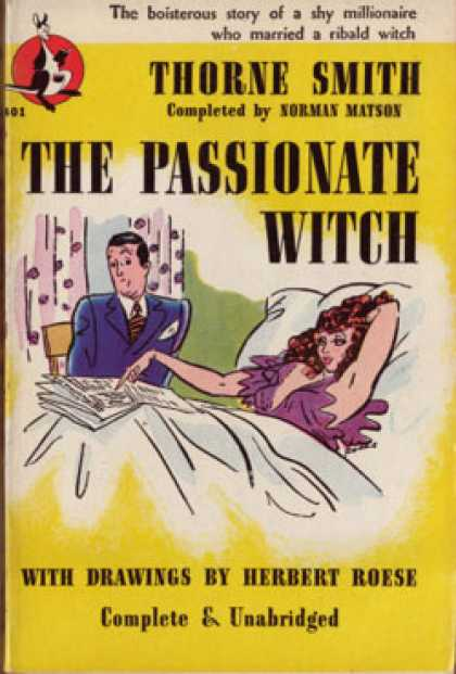 Pocket Books - The Passionate Witch - Thorne Smith