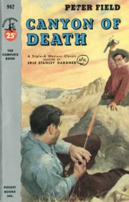 Pocket Books - Canyon of Death - Peter; Gardner, Erle Stanley Field