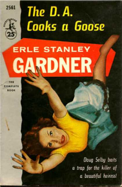 Pocket Books - The D. A. Cooks a Goose - Erle Stanley Gardner