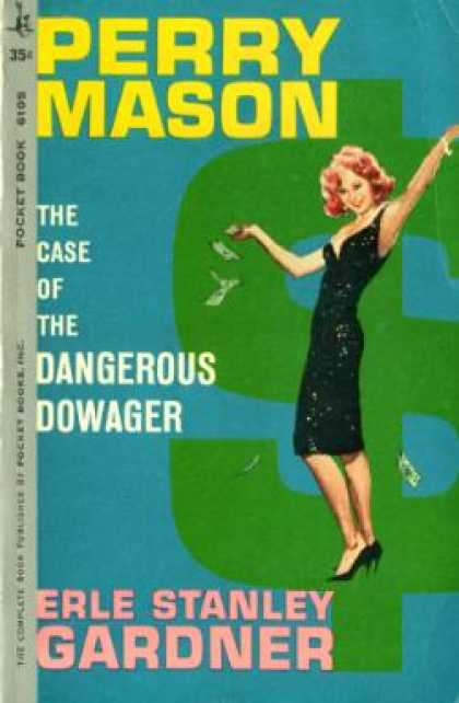 Pocket Books - Perry Mason, the Case of the Dangerous Dowager - Erle Stanley Gardner