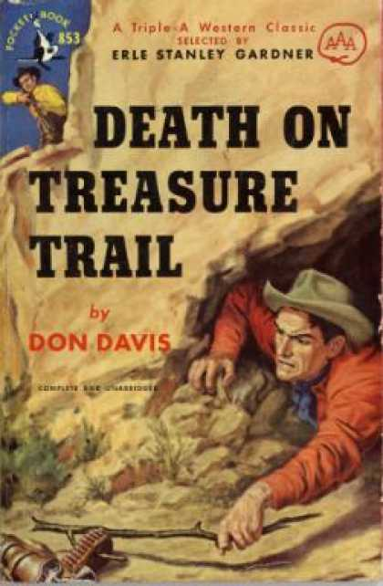 Pocket Books - Death On Treasure Trail - Davis Dresser