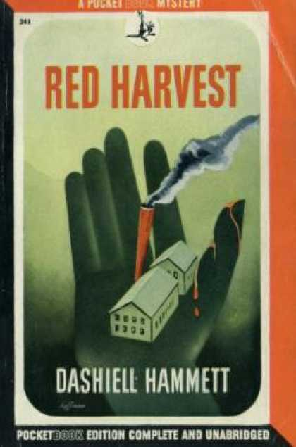 Pocket Books - Red Harvest - Dashiell Hammett