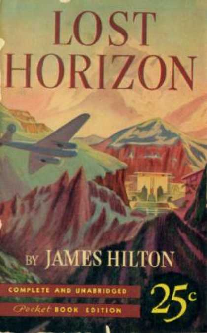 Pocket Books - Lost Horizon - James Hilton