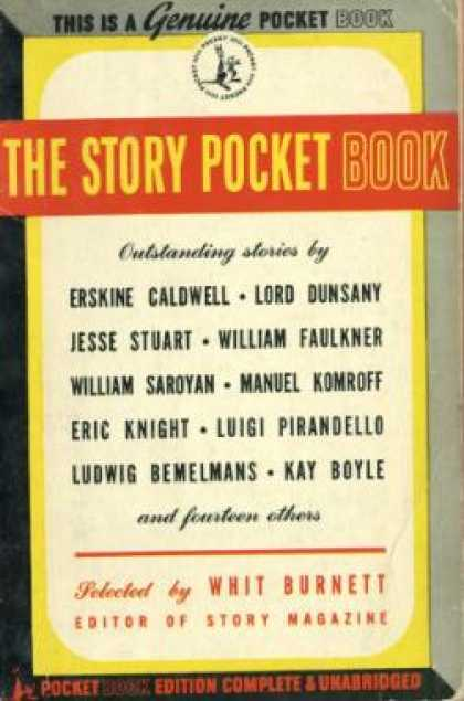 Pocket Books - The Story Pocket Book - Whit Burnett
