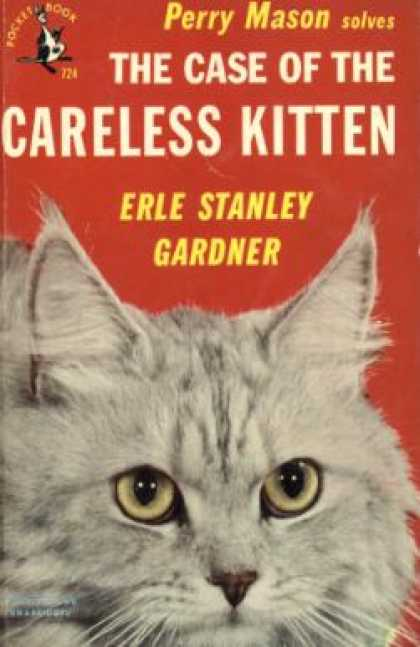 Pocket Books - The Case of the Careless Kitten