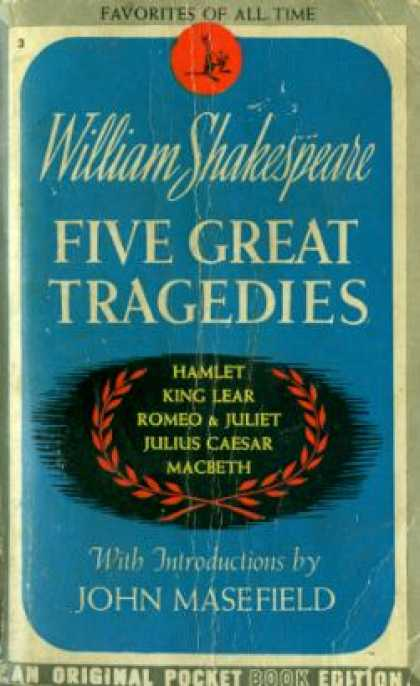 Pocket Books - Five Great Tragedies - William Shakespeare