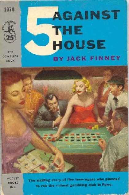 Pocket Books - 5 Against the House - Jack Finney