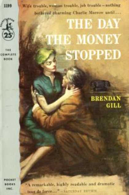 Pocket Books - The Day the Money Stopped - Brendan Gill