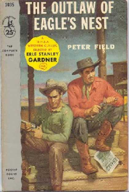 Pocket Books - The Outlaw of Eagles Nest - Peter; Gardner, Erle Stanley Field